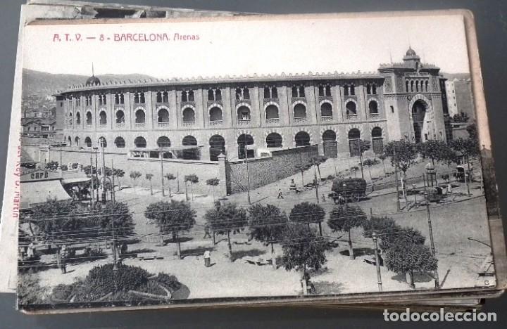 Postales: LOTE DE 58 POSTALES ANTIGUAS DE CATALUNYA - ÁNGEL TOLDRÁ VIANZO - ATV - Foto 4 - 205583380