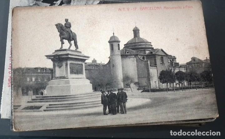 Postales: LOTE DE 58 POSTALES ANTIGUAS DE CATALUNYA - ÁNGEL TOLDRÁ VIANZO - ATV - Foto 5 - 205583380