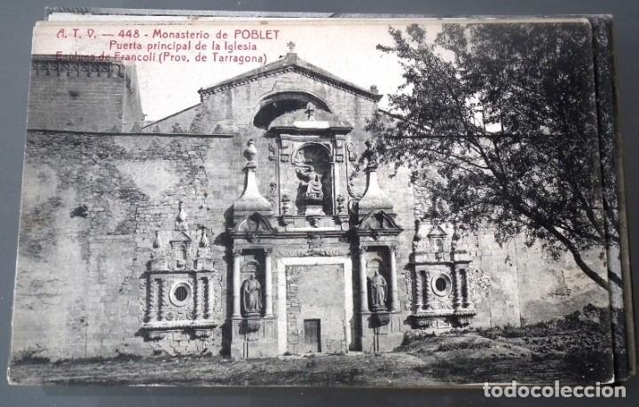 Postales: LOTE DE 58 POSTALES ANTIGUAS DE CATALUNYA - ÁNGEL TOLDRÁ VIANZO - ATV - Foto 18 - 205583380