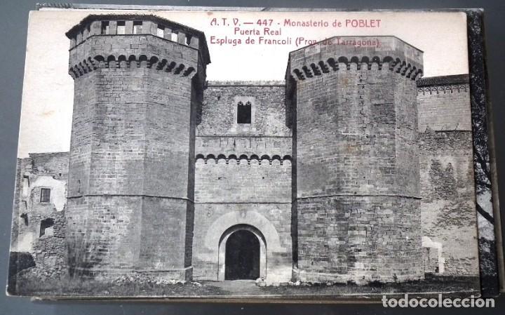 Postales: LOTE DE 58 POSTALES ANTIGUAS DE CATALUNYA - ÁNGEL TOLDRÁ VIANZO - ATV - Foto 19 - 205583380