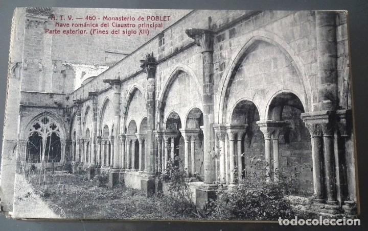 Postales: LOTE DE 58 POSTALES ANTIGUAS DE CATALUNYA - ÁNGEL TOLDRÁ VIANZO - ATV - Foto 23 - 205583380