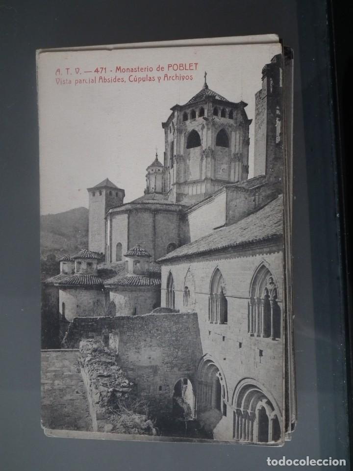 Postales: LOTE DE 58 POSTALES ANTIGUAS DE CATALUNYA - ÁNGEL TOLDRÁ VIANZO - ATV - Foto 27 - 205583380