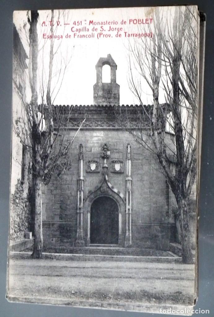 Postales: LOTE DE 58 POSTALES ANTIGUAS DE CATALUNYA - ÁNGEL TOLDRÁ VIANZO - ATV - Foto 31 - 205583380