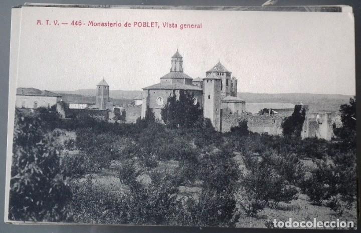 Postales: LOTE DE 58 POSTALES ANTIGUAS DE CATALUNYA - ÁNGEL TOLDRÁ VIANZO - ATV - Foto 40 - 205583380