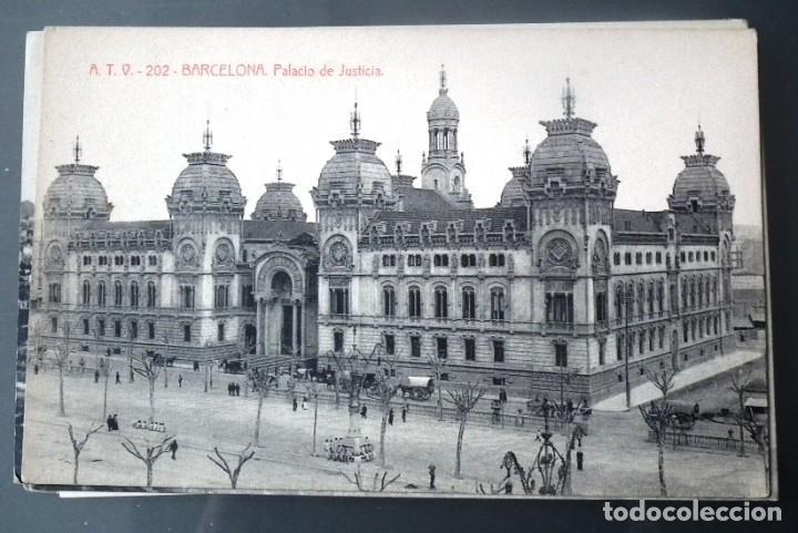 Postales: LOTE DE 58 POSTALES ANTIGUAS DE CATALUNYA - ÁNGEL TOLDRÁ VIANZO - ATV - Foto 51 - 205583380