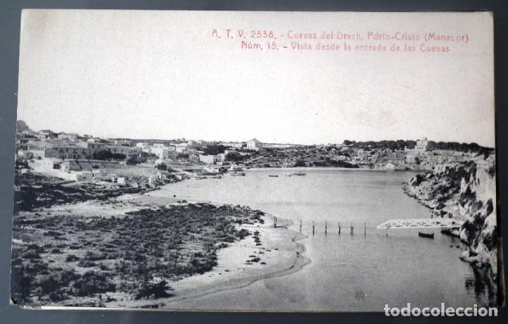 Postales: LOTE DE 58 POSTALES ANTIGUAS DE CATALUNYA - ÁNGEL TOLDRÁ VIANZO - ATV - Foto 53 - 205583380