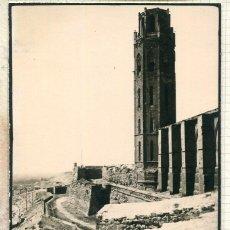 Postales: LÉRIDA-LA SEO- FOTOGRÁFICA-AÑO 1935- RARA. Lote 205696768
