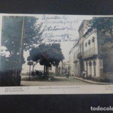 Postales: SANT ANTONI DE VILAMAJOR BARCELONA PLAZA DEL MONTSENY VERS EL CARRER NOU. Lote 205829127