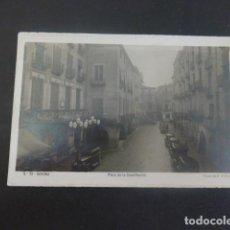 Postales: GERONA PLAZA DE LA CONSTITUCION. Lote 205829326