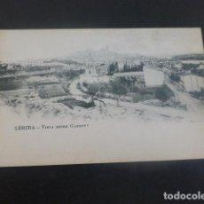 Postales: LERIDA VISTA DESDE GARDENY. Lote 205829487