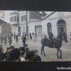 Postales: BADALONA BARCELONA FIESTA DESFILE FOTOGRAFIA TAMAÑO POSTAL. Lote 205829706