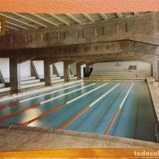 Cartes Postales: IGUALADA, BARCELONA. PISCINA CUBIERTA. BONITA POSTAL. SIN USAR. Lote 206240910