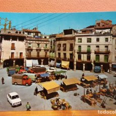 Cartes Postales: IGUALADA, BARCELONA. PLAZA DEL GENERALÍSIMO FRANCO. BONITA POSTAL. SIN USAR. Lote 206241586