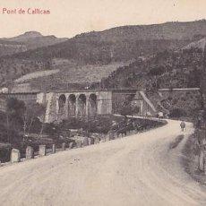 Postales: BARCELONA FIGARO PONT DE CALLICAN. ED. THOMAS Nº 7. SIN CIRCULAR. Lote 206280843