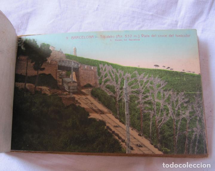 Postales: L. ROISIN. BLOC TIBIDABO. COLOR. INCOMPLETO SOLO 11 POSTALES. 9,5 X 15 CM - Foto 4 - 206355153