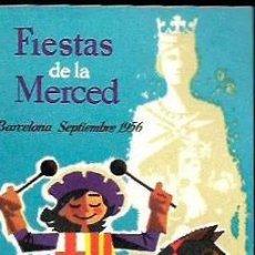 Postales: POSTAL TARJETA * BARCELONA ,FESTES DE LA MERCÉ * 1956. Lote 206369186