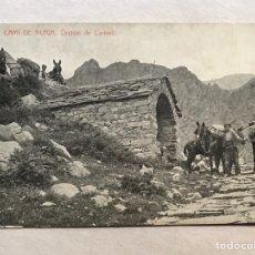 Postales: NURIA (GERONA) POSTAL ANIMADA. ORATORI DE CARIVELL . FOTOTIPIA THOMAS (H.1910?) S/C. Lote 206411925