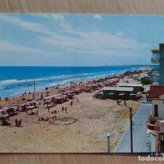 Postales: TARJETA POSTAL - 1961 COSTA DORADA - CALAFELL - 1 PLAYA. Lote 206425453