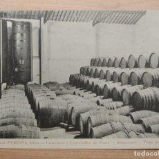 Postales: ROMÁN PERPIÑÁ REUS COSECHERO EXPORTADOR VINOS ALMACENES VISTA PARCIAL 1910. BIENAIMÉ. REIMS ORIGINAL. Lote 206547818