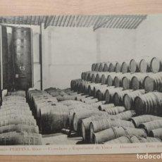 Postales: ROMÁN PERPIÑÁ REUS COSECHERO EXPORTADOR VINOS ALMACENES VISTA PARCIAL 1910. BIENAIMÉ. REIMS ORIGINAL. Lote 206547960