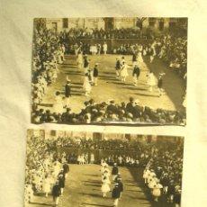 Postales: SANT CELONI BALL DE GITANAS 2 POSTALES FOTOGRÁFICAS. EDICIÓN ESPECIAL EL SIGLO MODERNO, NO CIRCULADA. Lote 206598071