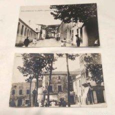 Postales: SAN GINES DE VILASAR 2 POSTALES FOTOGRÁFICAS AÑOS 40, NO CIRCULADAS BUEN ESTADO. Lote 206598075