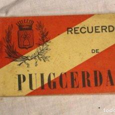 Postales: PUIGCERDA ALBUM RECUERDO POSTALES, COMPLETO BUEN ESTADO. Lote 206598085