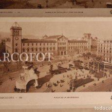 Postales: ANTIGUAS POSTALES - TIRA DE 9 POSTALES DE BARCELONA - LA DE LAS FOTOS. Lote 206779520