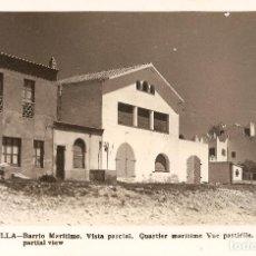 Postales: TARRAGONA - ALTAFULLA - BARRIO MARÍTIMO, VISTA PARCIAL.. Lote 206784335