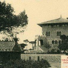 Postales: BARCELONA - TIBIDABO. Lote 206810330