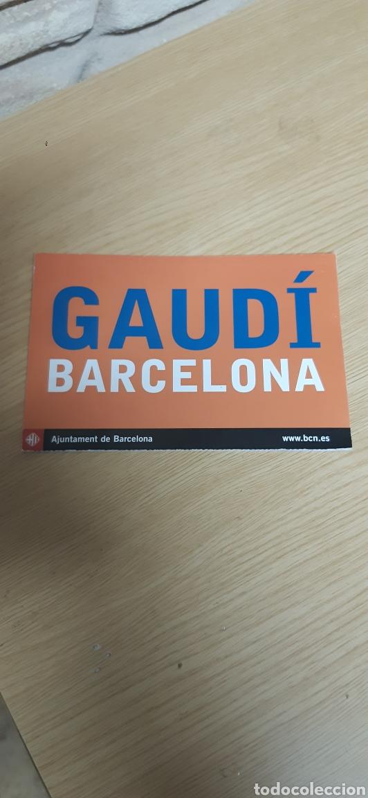 Postales: 5 postales Gaudi Barcelona 2002 - Foto 3 - 206815435