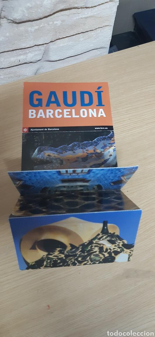 5 POSTALES GAUDI BARCELONA 2002 (Postales - España - Cataluña Moderna (desde 1940))