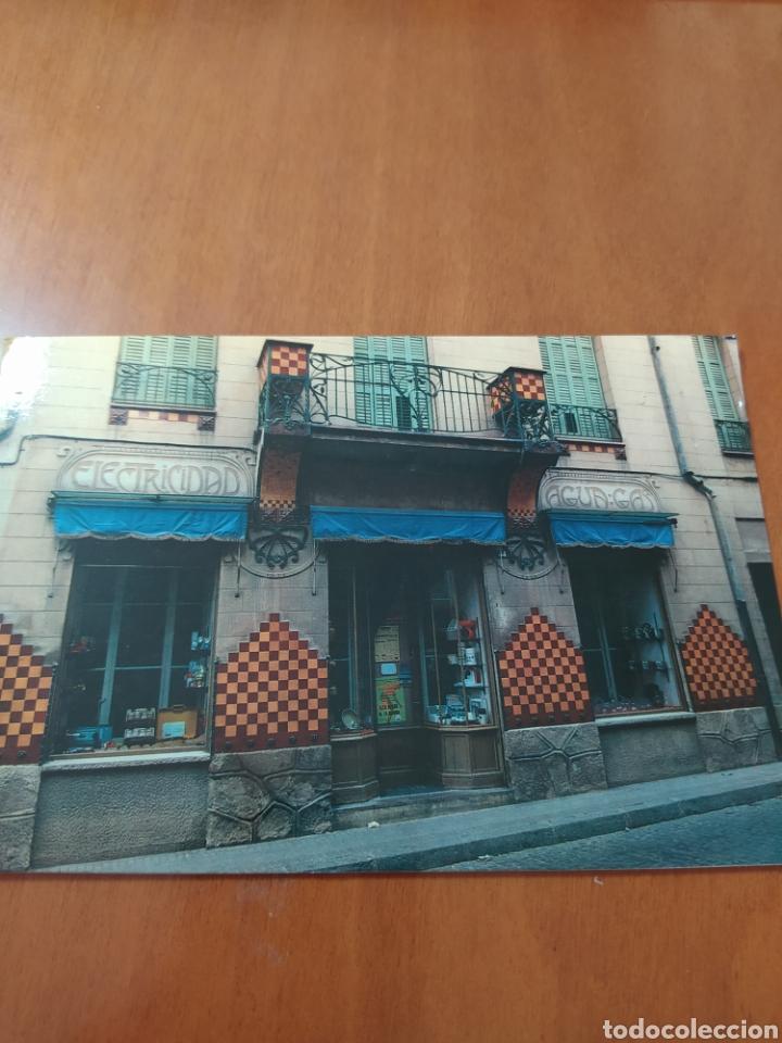 POSTAL LA GARRIGA MODERNISTA (Postales - España - Cataluña Moderna (desde 1940))