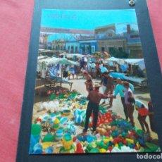 Postales: CALELLA ( BARCELONA ) VISTA DEL MERCADO. Lote 206819751