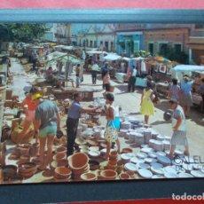 Postales: CALELLA ( BARCELONA ) VISTA DEL MERCADO. Lote 206819971