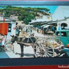 Postales: CALELLA ( BARCELONA ) VISTA DEL MERCADO. Lote 206820125