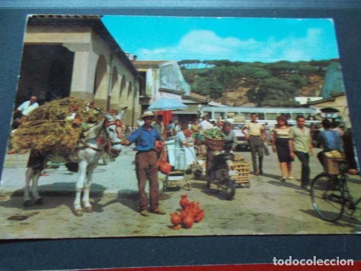 CALELLA ( BARCELONA ) VISTA DEL MERCADO (Postales - España - Cataluña Moderna (desde 1940))