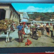 Postales: CALELLA ( BARCELONA ) VISTA DEL MERCADO. Lote 206820255