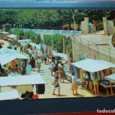Postales: CALELLA ( BARCELONA ) VISTA DEL MERCADO. Lote 206820346