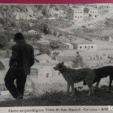 Postales: VISTA PARCIAL DE SAN DANIEL,DESDE EL PASEO ARQUEOÑOGICO GERONA GIRONA. Lote 206959517