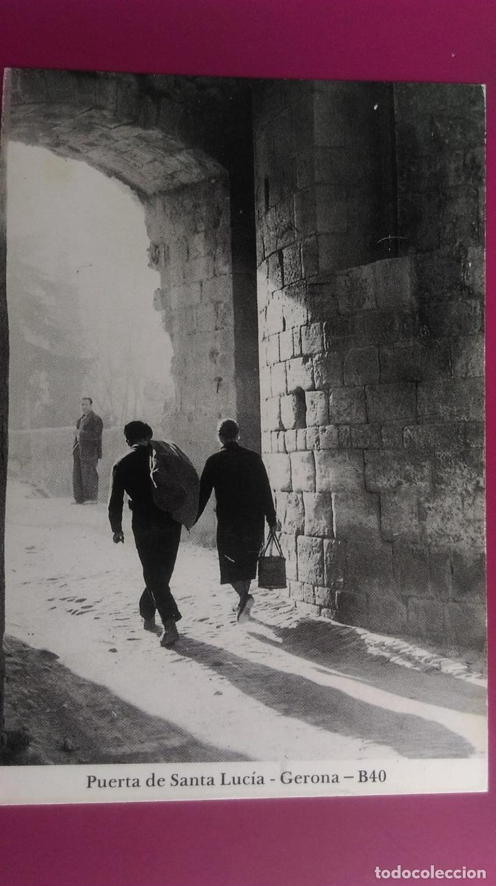 PUERTA DE SANTA LUCIA EN SAN DANIEL GERONA GIRONA (Postales - España - Cataluña Moderna (desde 1940))