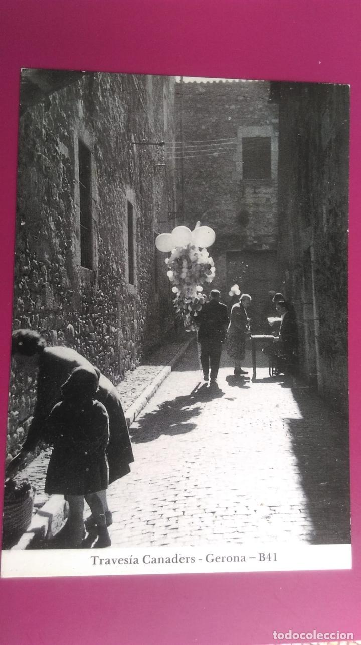 TRAVESIA GANADERS GERONA GIRONA (Postales - España - Cataluña Moderna (desde 1940))