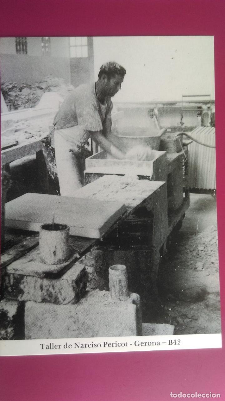 TALLER DE NARCISO PERICOT GERONA GIRONA (Postales - España - Cataluña Moderna (desde 1940))