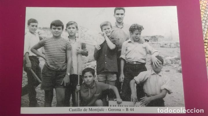 CASTILLO DE MONTJUIC MONTJÜIC GERONA GIRONA (Postales - España - Cataluña Moderna (desde 1940))