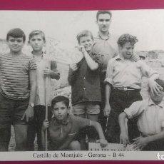 Postales: CASTILLO DE MONTJUIC MONTJÜIC GERONA GIRONA. Lote 206960171