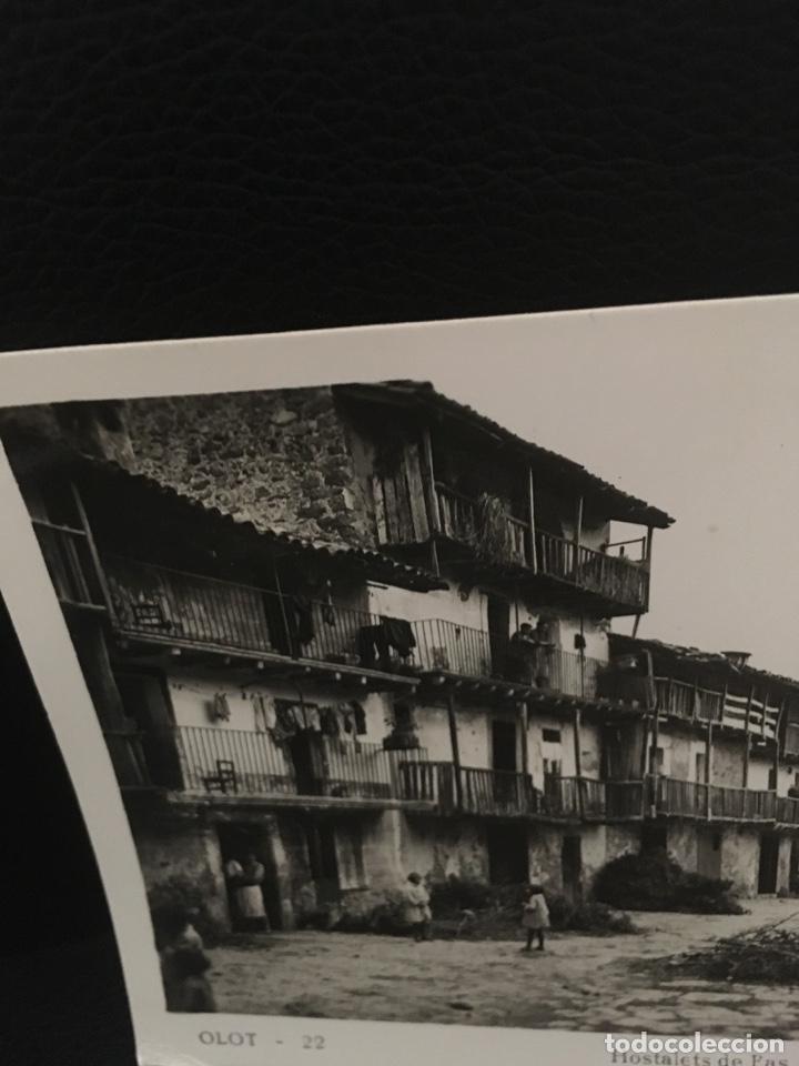 Postales: POSTAL DE OLOT HOSTALETS DE PAS EDIT.ARQUES AÑOS 40 - Foto 2 - 206961186
