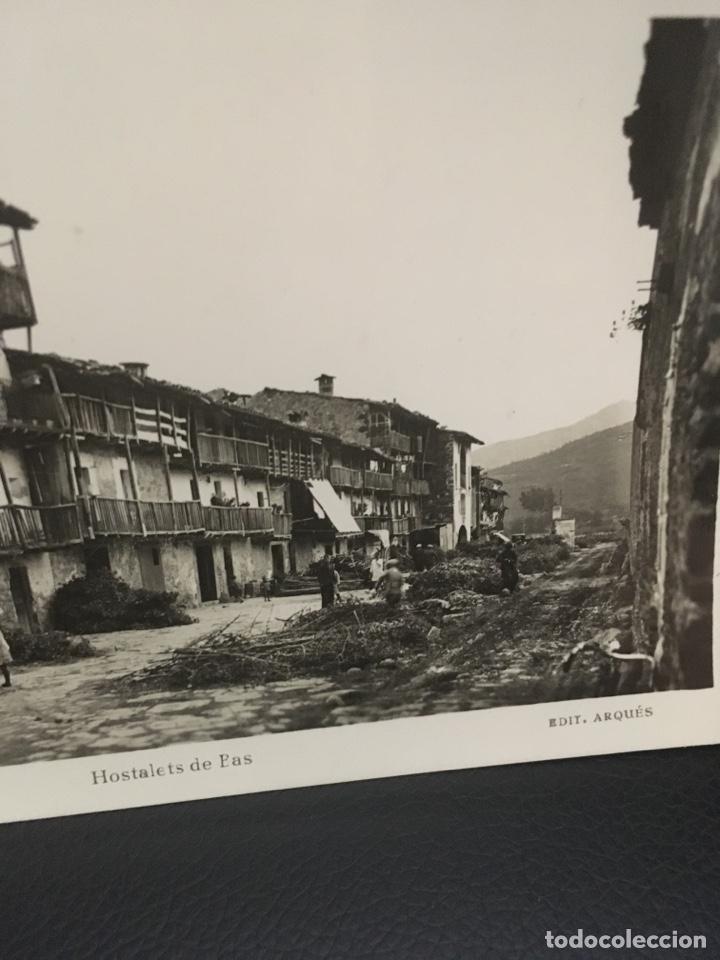 Postales: POSTAL DE OLOT HOSTALETS DE PAS EDIT.ARQUES AÑOS 40 - Foto 3 - 206961186