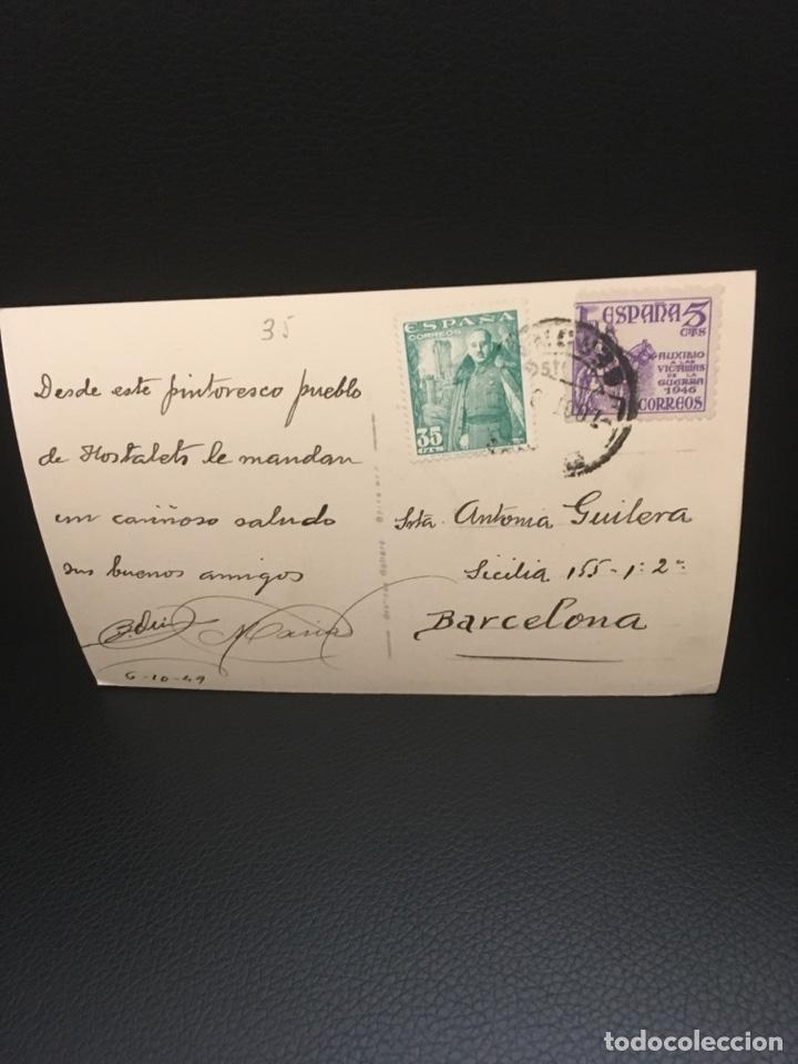 Postales: POSTAL DE OLOT HOSTALETS DE PAS EDIT.ARQUES AÑOS 40 - Foto 4 - 206961186