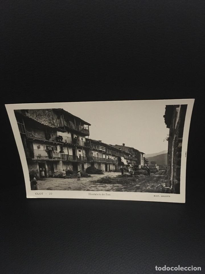POSTAL DE OLOT HOSTALETS DE PAS EDIT.ARQUES AÑOS 40 (Postales - España - Cataluña Moderna (desde 1940))