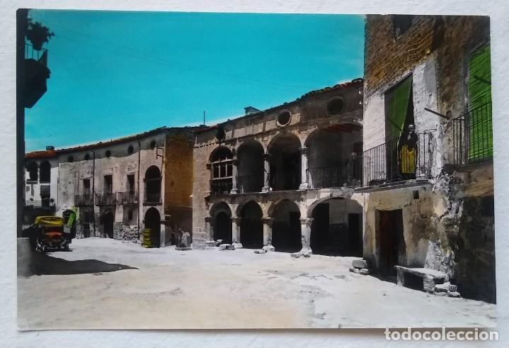 COLOR. SIN CIRCULAR. AGRAMUNT Nº 4. PLAZA AMBALL. FOTO RAYMOND (Postales - España - Cataluña Moderna (desde 1940))